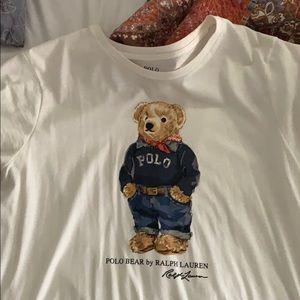 polo bear tshirt